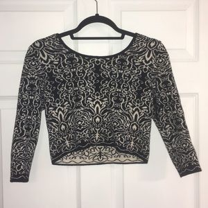 Sweater Crop Top